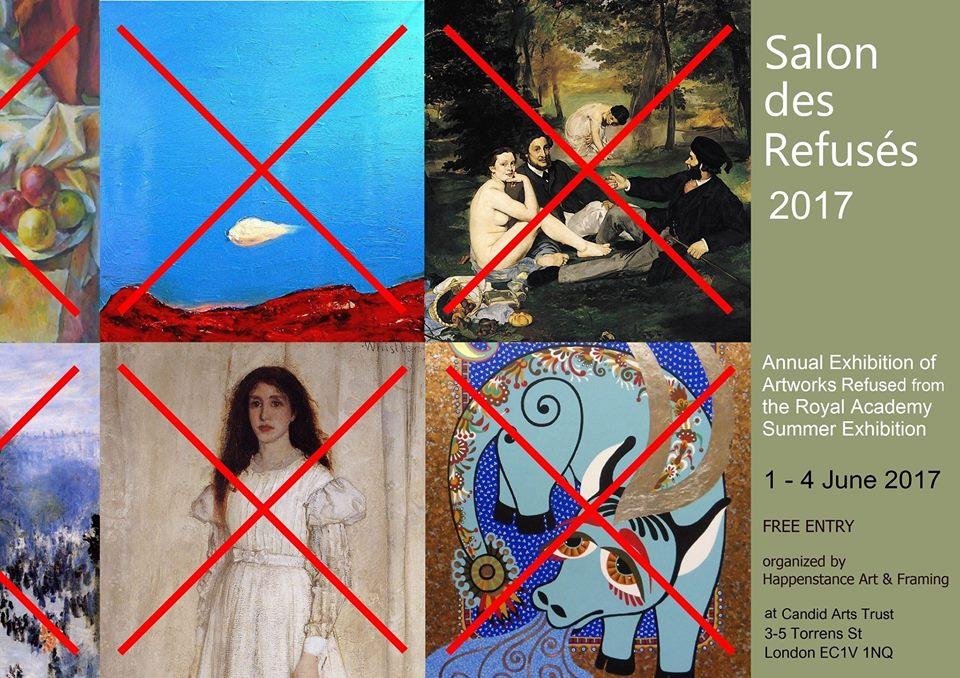 Salon des Refusés 2017 - London
