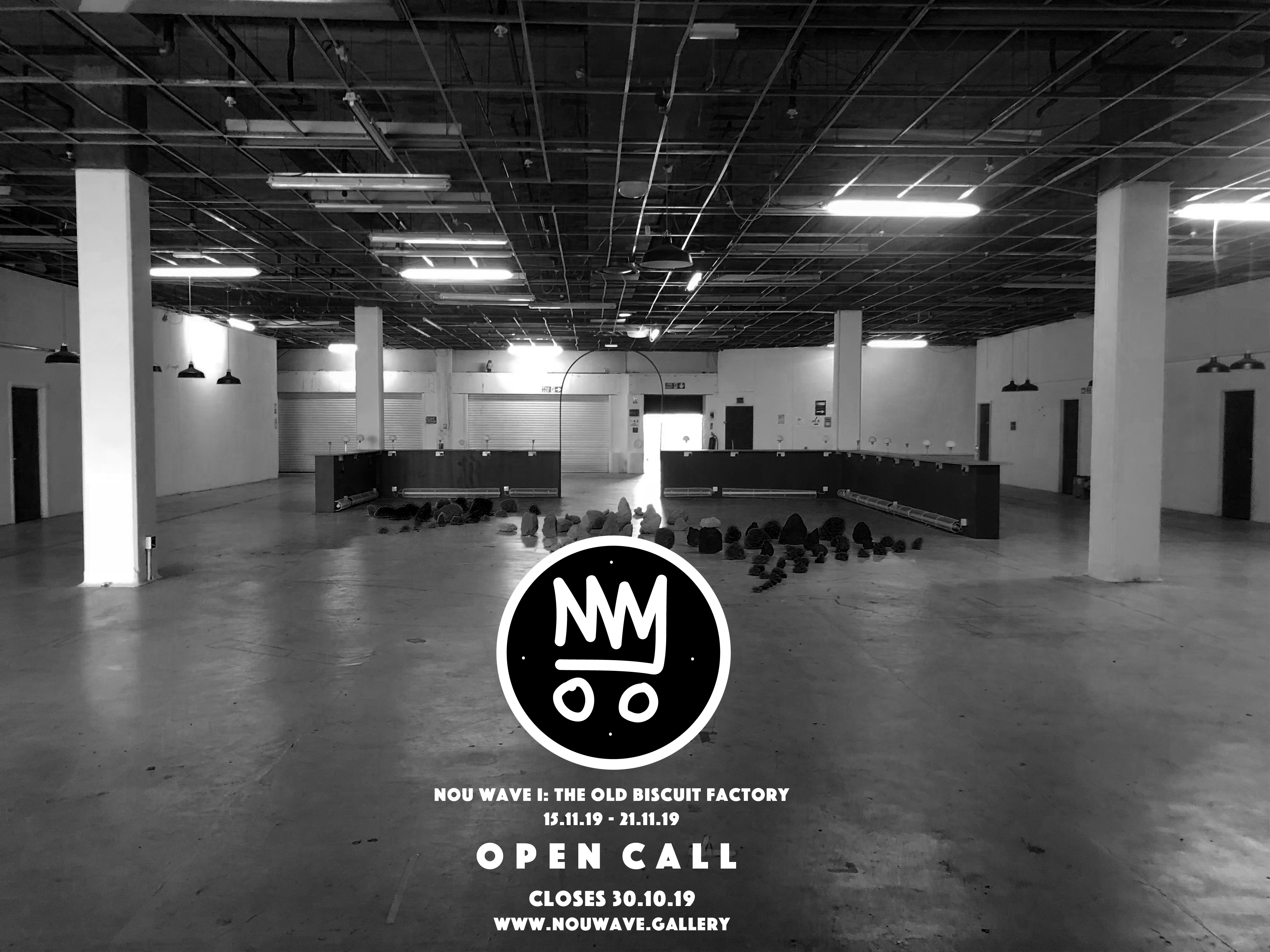 Nou Wave Gallery Open Call: The Old Biscuit Factory, London