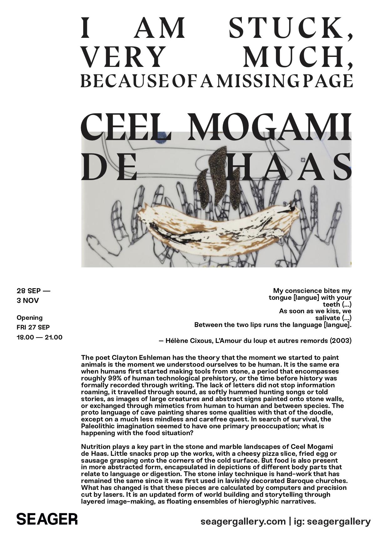 CEEL MOGAMI DE HAAS