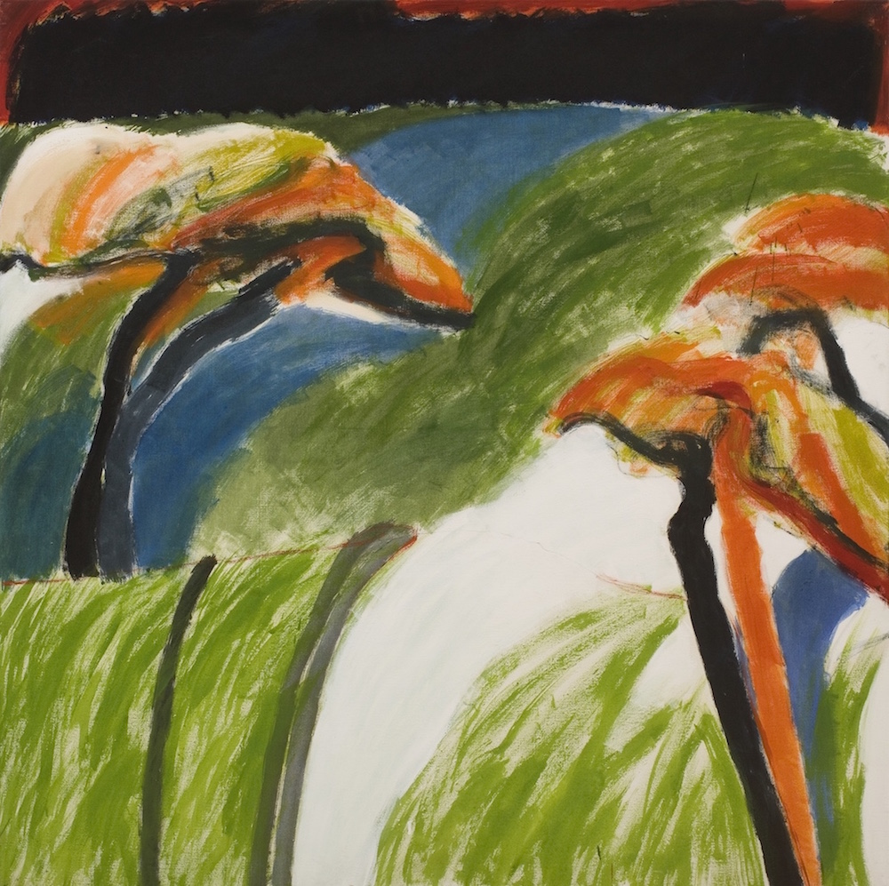 William Crozier, Death's Way II, 1969. Oil on Canvas. For Sale.