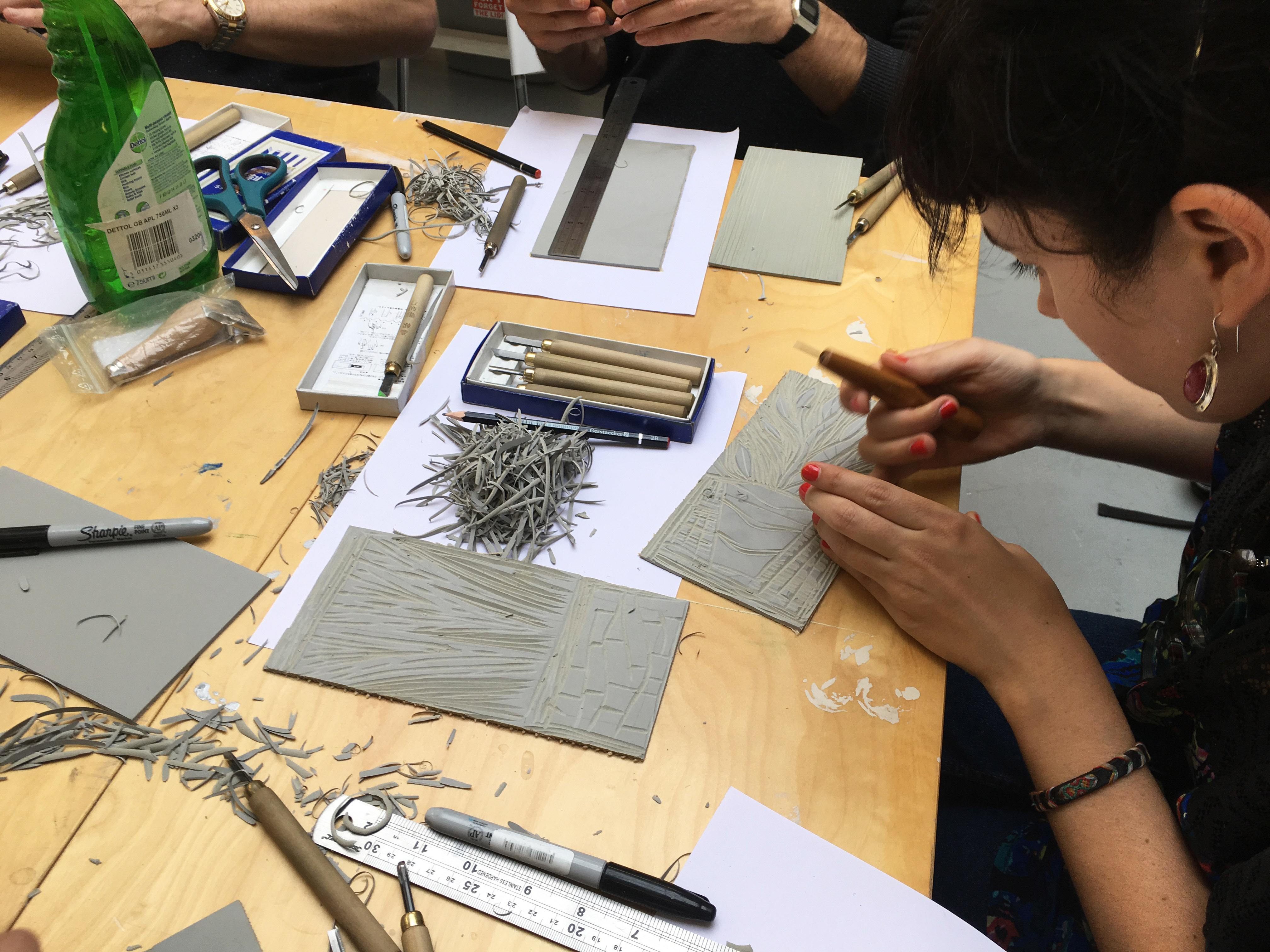 Jamie Temple Printing Workshop