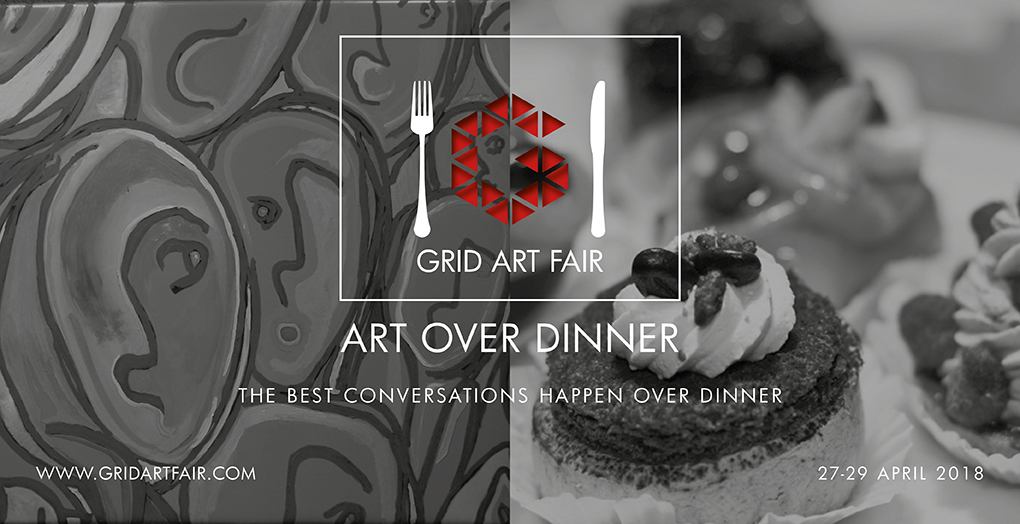 Art over Dinner - join us for dinner on the 27th and 28th of April 2018