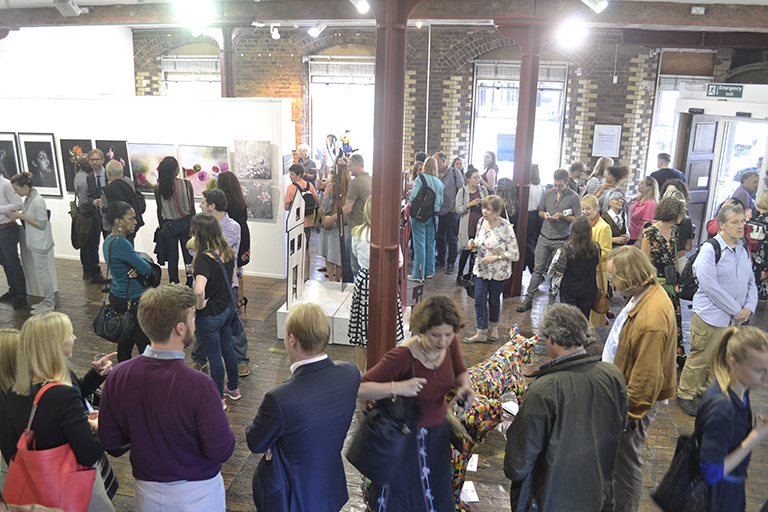 Exhibit Here's 2017 Summer Exhibition Private View at the Menier Gallery