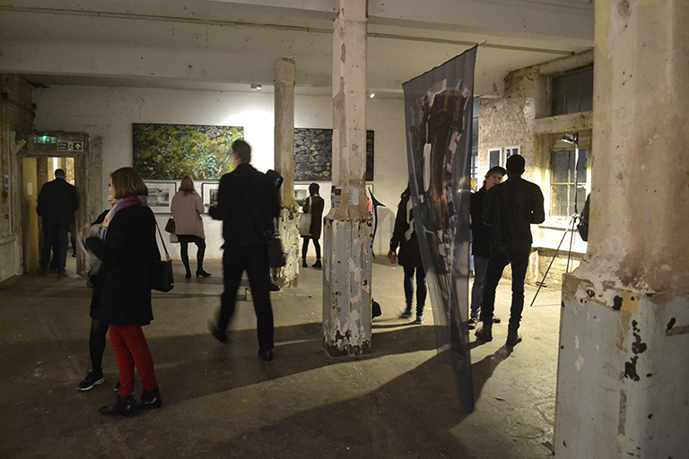 2016 Art Maze Exhibition Private View, Bargehouse Oxo Tower Wharf