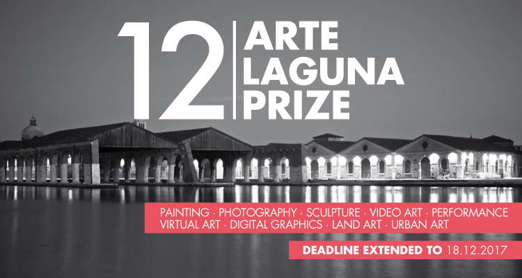 Call for artists! 12th Arte Laguna prize extends deadline to December 18