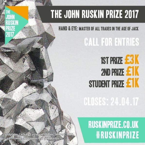 The John Ruskin Prize 2017