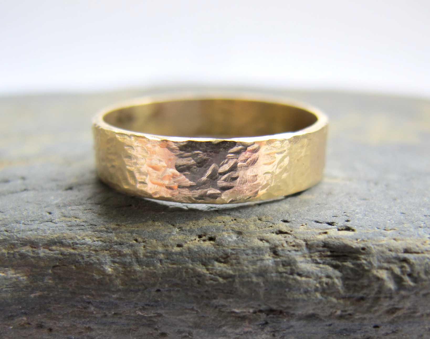 Handmade Men S Gold Wedding Rings London