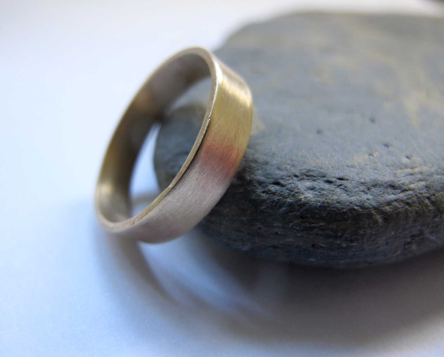 s thick gold band wedding ring s artist quarter