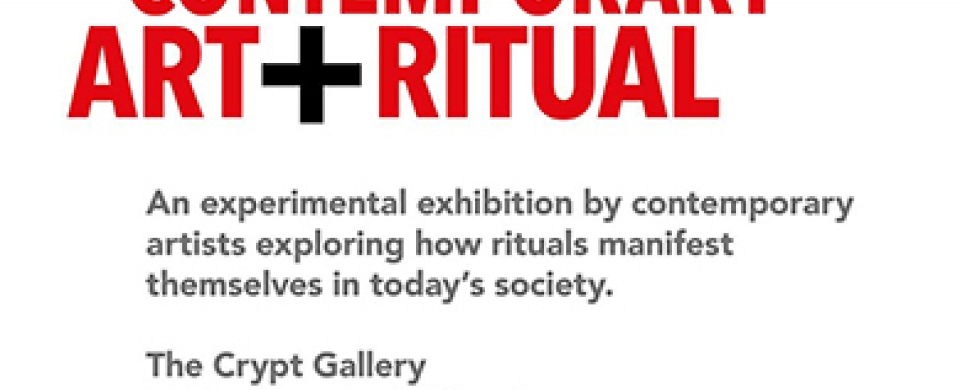 Open Call for Artists: Contemporary Art + Ritual (The Crypt Gallery