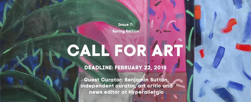 INTERNATIONAL CALL FOR ART, Art Maze Magazine Spring Edition