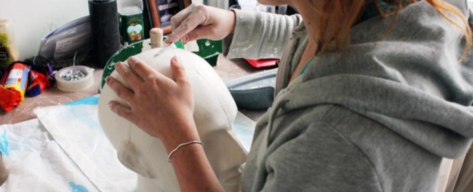 Prop and mask maker, Vinicius salles | London's Artist Quarter