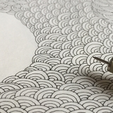 Dots, lines, handmade, pen