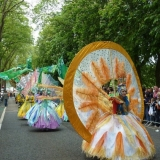 Large scale carnival costume