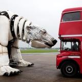 Aurora, giant polar bear, Greenpeace,