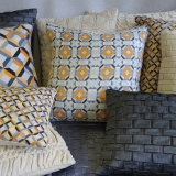Hand Stitched & Printed cushions
