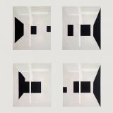 Black Grid Paintings