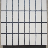 Clare French, painting, grid
