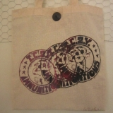 TC2Y Design Screen-Print Bag - 1920's French Button
