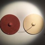Jesmonite and Thread, 105 cm x 50 cm
