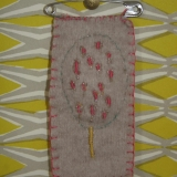 Mum's Lollipop Tree Badge