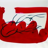 Reclining Nude in Red