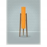Mid Century Modern Rocket Lamp