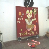 instalation at Red Gallery