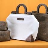 Wood Framed Alissa Valdenassi Handbag