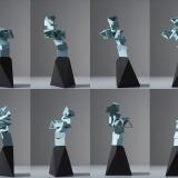 ceramic, art, geometry, digital