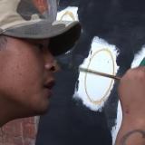 Life and Art ( screenshot Balinese prison, documentary on art exhibition)
