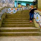Rachel Silver - Mosaic Stairwell Sao Paulo Brazil
