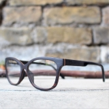 Woman glasses frames made from wood