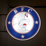 BFC Whitaker Esam Chicken Shop Art Sign