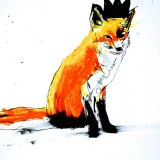Fox with Black Crown