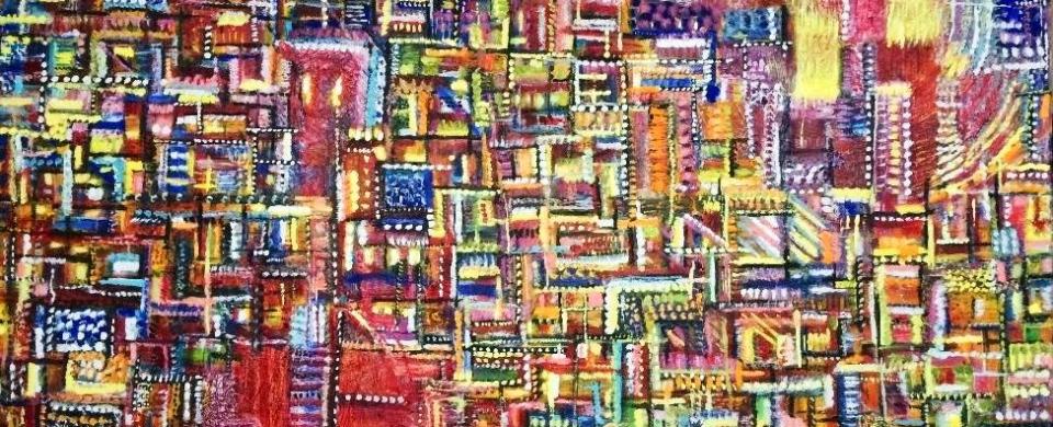 Land of Sunshine -Oil on canvas 100cmx80cm