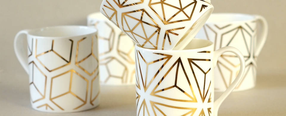 Platonic Solids mugs
