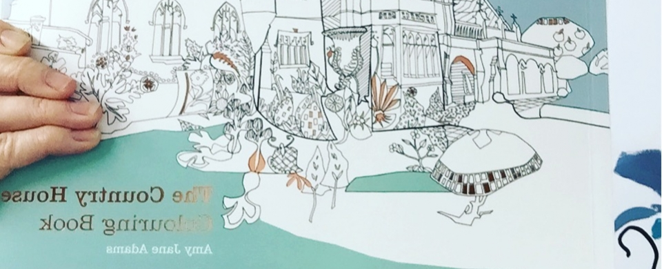 The National Trust Country House Colouring Book