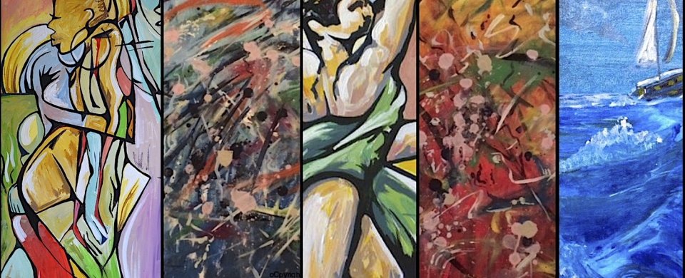 David Emmanuel Noel-Visual Artist in the London Artist Quarter, Artists in London, Visual artists in London, London Artists