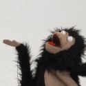 Monkey Hand, rod puppet