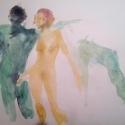 Watercolour on Paper by Jamie Zubairi