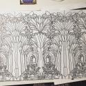 Colouring 'carpet' Pattern design