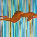 """""""Lying Female Model"""", Oil on Canvas, 96/127 cm., 2017"""