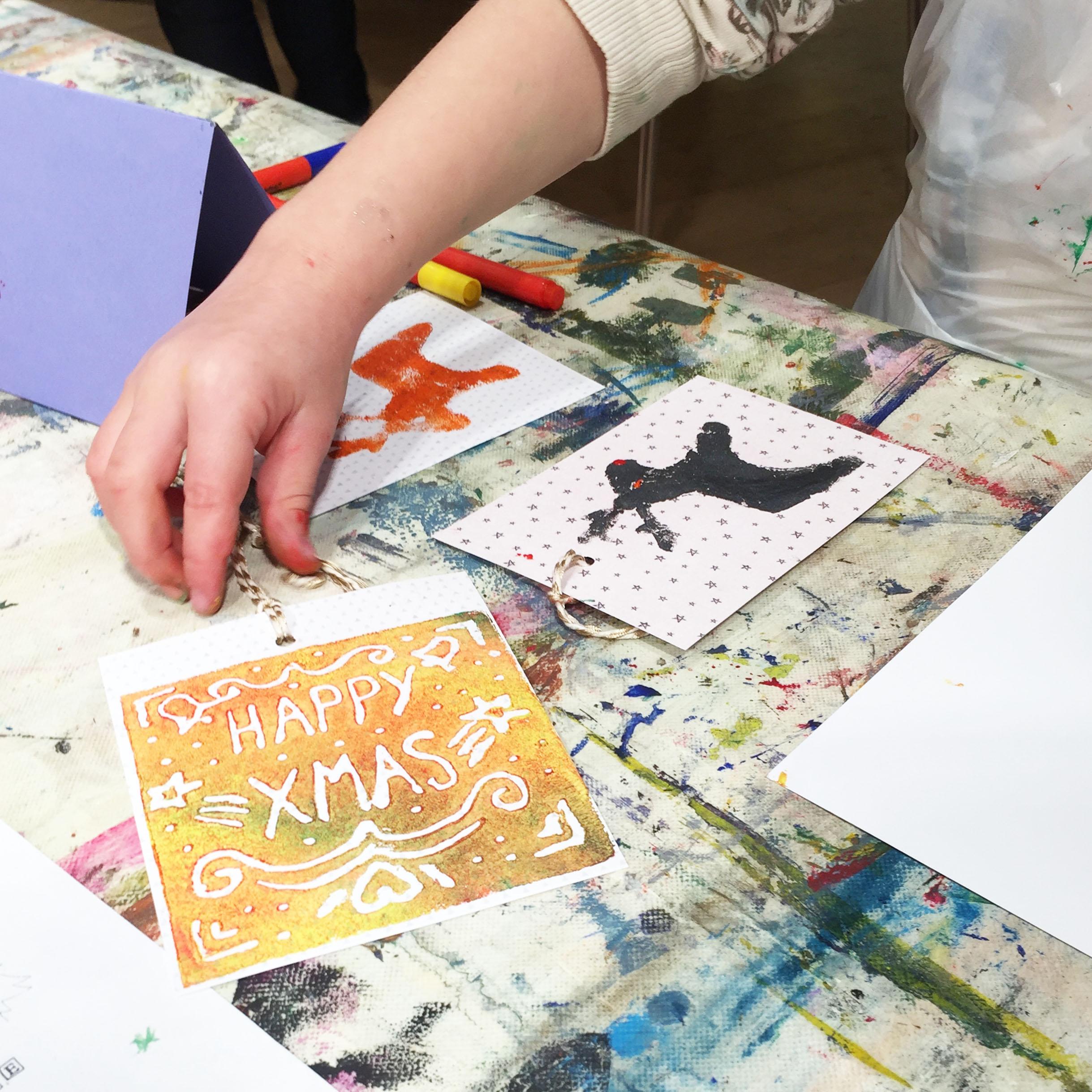 Festive Printmaking